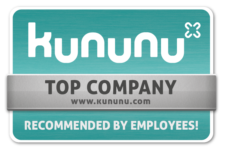 kununu – Top Company – Recommended by Employees!